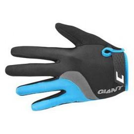 Gants longs Giant Tour noir-bleu