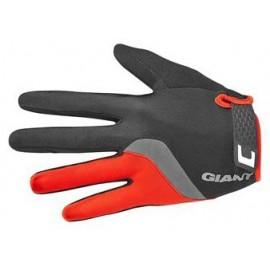 Gants longs Giant Tour noir-rouge