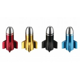 Bouchons de valve obus Fouriers colorés