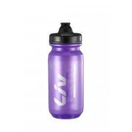 Bidon LIV Cleanspring transparent violet argent 600 & 750ml