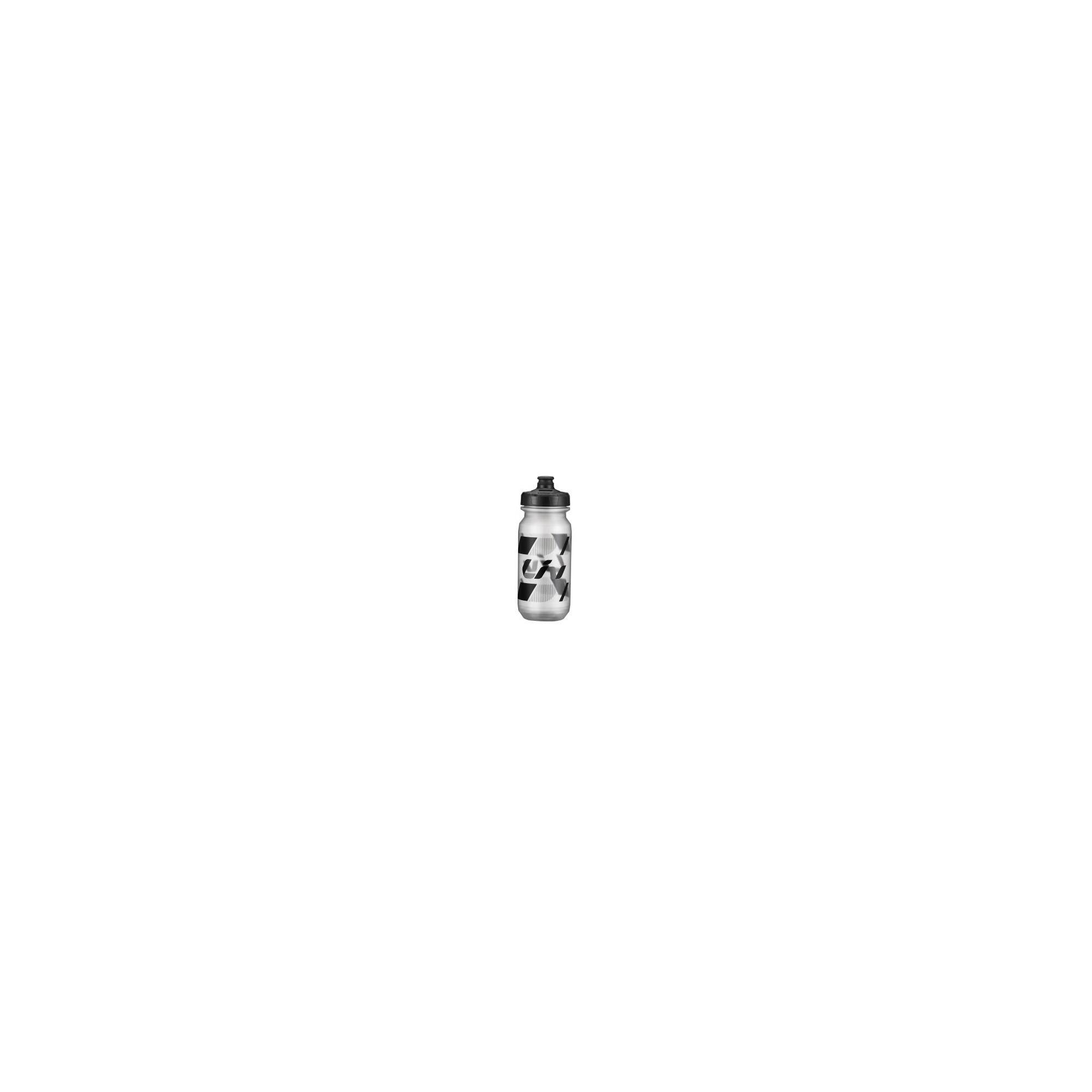 Bidon Doublespring Liv transparent noir 600ml