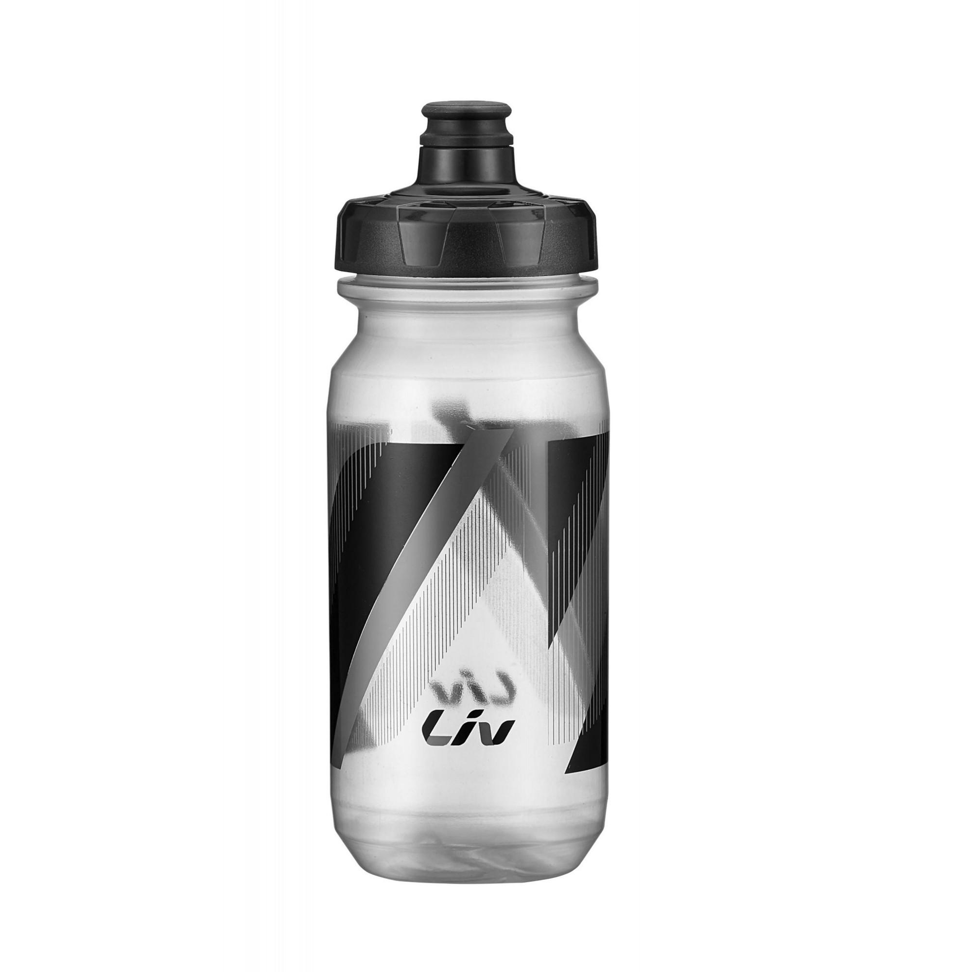 Bidon LIV Cleanspring transparent noir gris 600 & 750ml