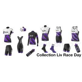 Chaussettes Liv Race Day Blanc/Violet
