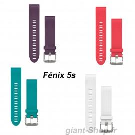 Bracelet silicone Garmin Fenix 5s 20mm