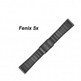 Bracelet acier inoxydable Garmin Fenix 5X