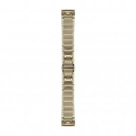 Bracelet acier inoxydable Goldtone Garmin Fenix 5s