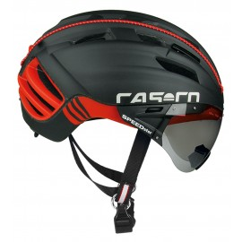 Casco SpeedSter TC Plus noir rouge