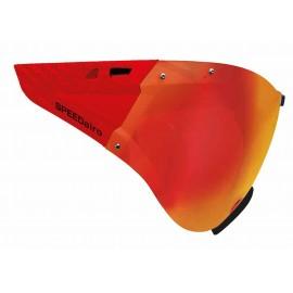 SpeedMask orange Carbonic Casco