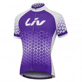 Maillot LIV MC BELIV violet