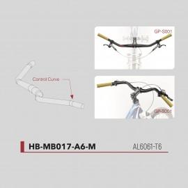 Cintre Trekking aluminium Fouriers Ø31,8 x 720mm HB-MB017-