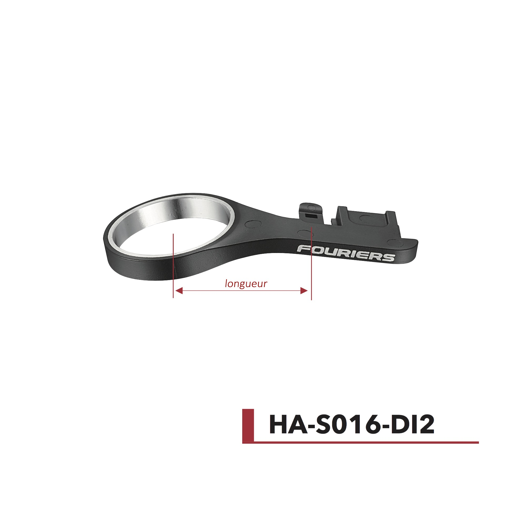 Support DI2 Nylon Ø28,6 OD1 Fouriers HA-S016-DI2