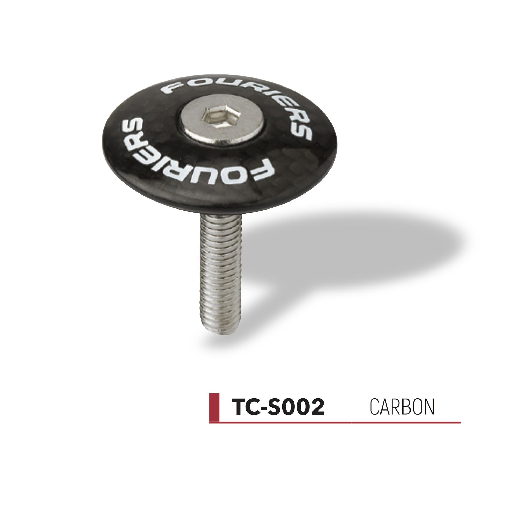 Bouchon de potence Fouriers carbone TC-S002