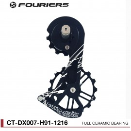 Chape Fouriers Full Ceramic pour Shimano RD 9100 Fouriers ct-dx007-h91-1216