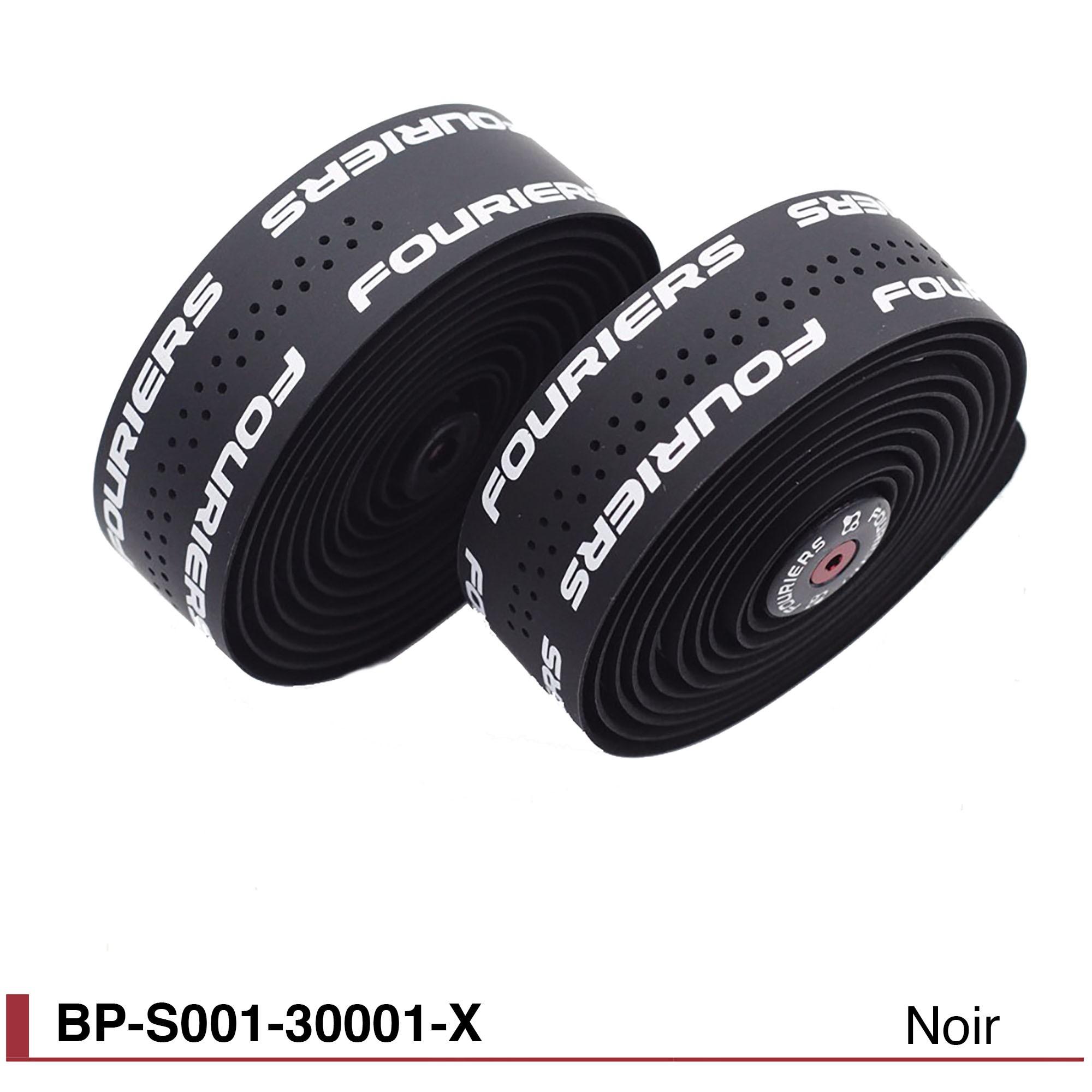 Ruban de guidon Fouriers BP-S001-30001-x-noir-3mm
