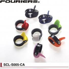 Collier de tige de selle Fouriers avec joint étanchéité couleur SCL-S005-CA