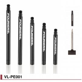 Prolongateurs de valves pour canons indémontables Fouriers vl-pe001
