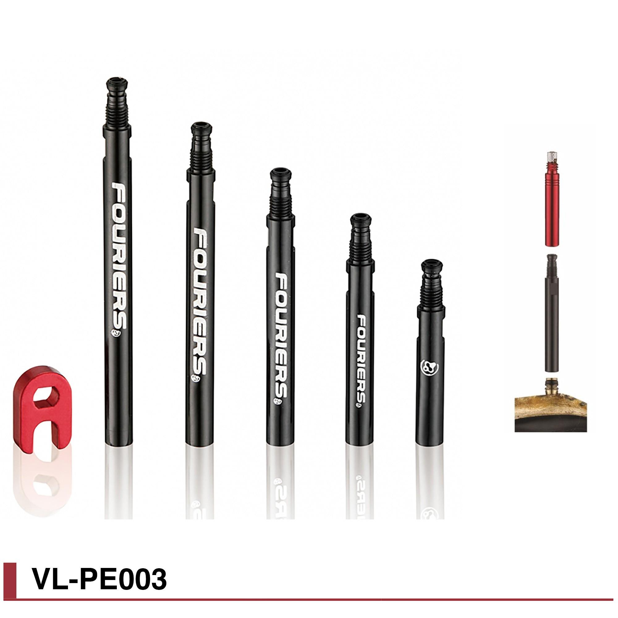 Prolongateurs de valves Fouriers pour Boyaux Vittoria à valves démontables