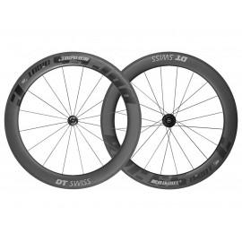 paire de roues route dt swiss rrc 65 dicut carbone