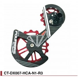 Chape Fouriers ct-dx-hca-n1 Full Ceramic Carbone Shimano 9000/9070/6800/6870
