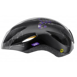 Casque Liv Lanza Matte Black Purple