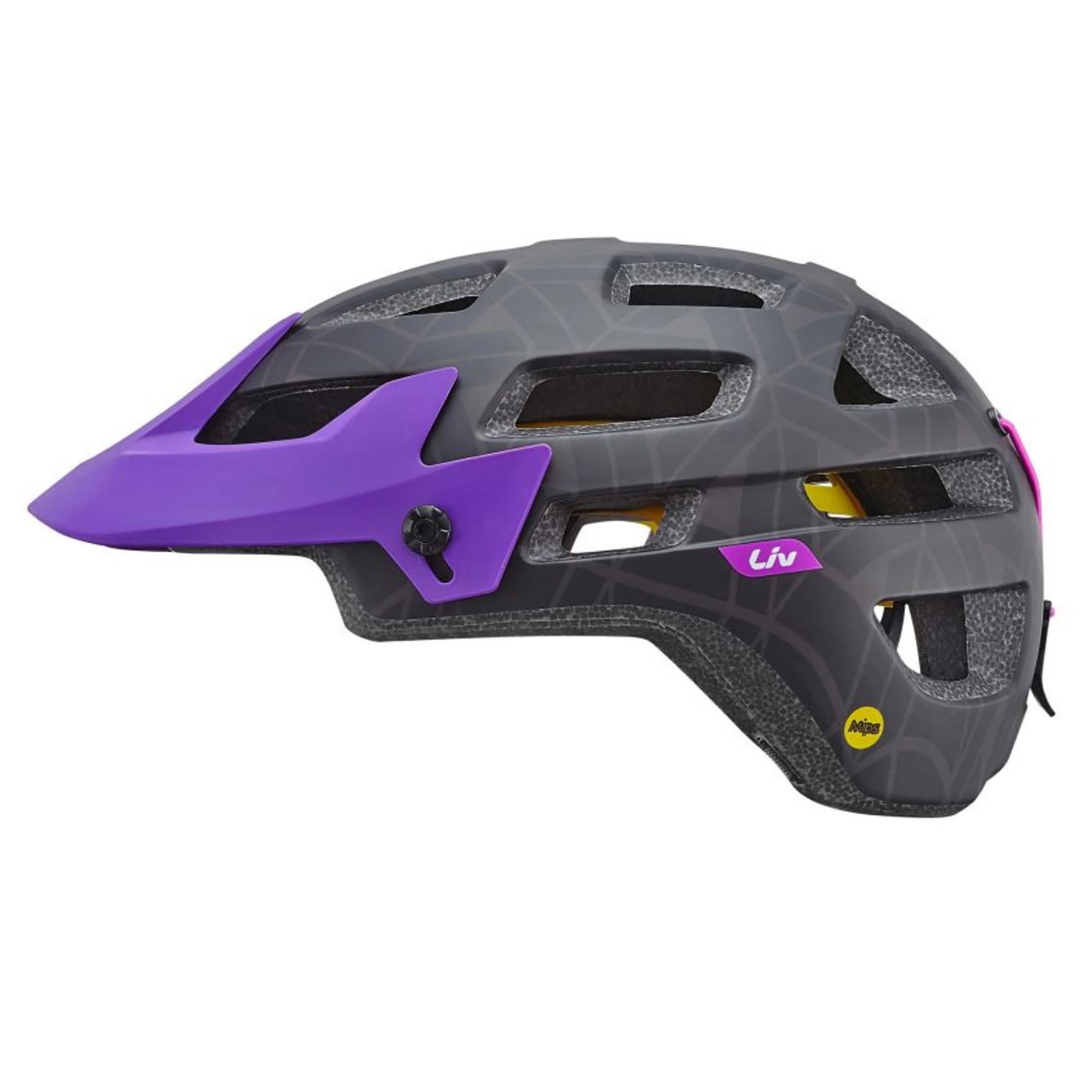 Casque Liv Infinita Mips Matte Black Purple