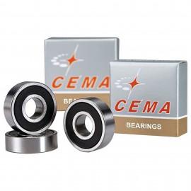 Roulement de roue CEMA Acier Chrome