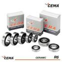Roulement R6 CEMA Céramique Hybride