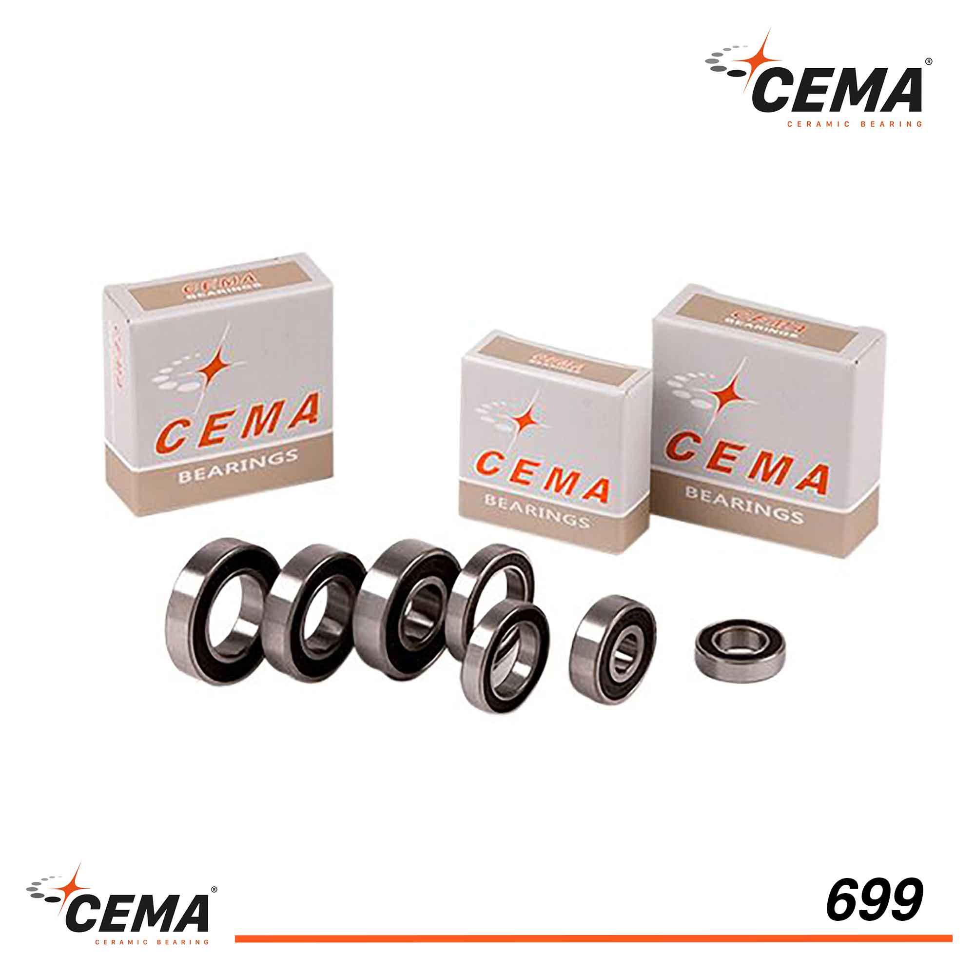 Roulement 699 CEMA Chromé