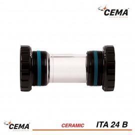 Boitier de pedalier ITA 24 ceramique pour SHIMANO