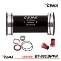 Boitier de pédalier BB86-BB92 céramique pour SRAM GXP