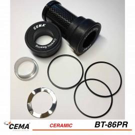 Boitier de pédalier BB86-BB92 céramique pour SRAM GXP - Cema BT-86PR
