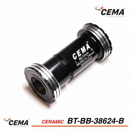 Boitier de pédalier 386 EVO Céramique pour Shimano - CEMA BT-BB38624B