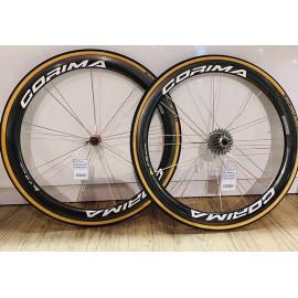 Roues Corima WS 47 à pneus