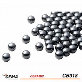 """Billes céramique 1/8"""" CEMA x50"""