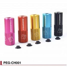 Peg Fouriers PEG-CH001 pour vélo BMX