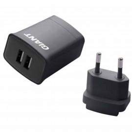 Adaptateur charge secteur double USB Giant 400000160