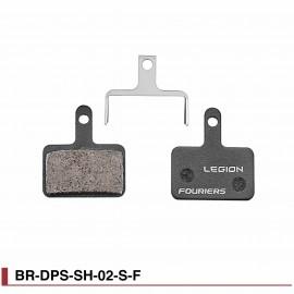 Plaquettes de freins semi-métal Fouriers DPS-SH-02