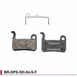 Plaquettes de freins semi-métal Fouriers DPS-SH-04