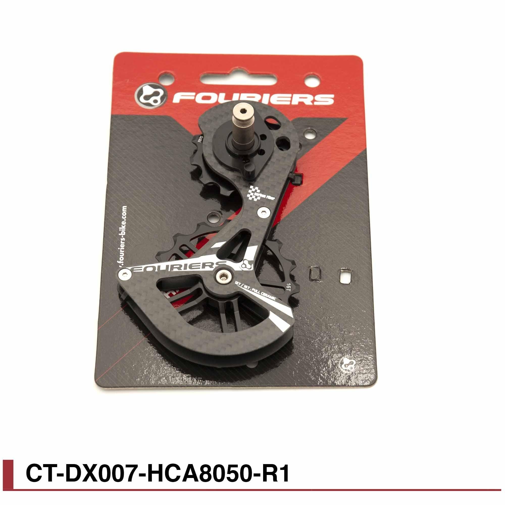 Chape Fouriers carbone Full ceramique pour Shimano RD8050