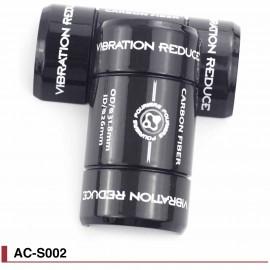 Adaptateur de cintre 3 tailles / Reducteur vibrations en carbone Fouriers AC-S002