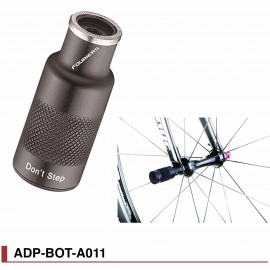 Support éclairage / Protège dérailleur Fouriers ADP-BOT-A011