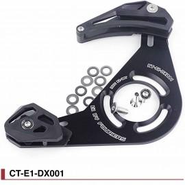Guide chaine haut&bas VTT Monoplateau Fouriers CT-E1-DX001