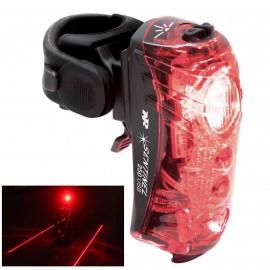 Eclairage velo Sentinel 250 laser au sol