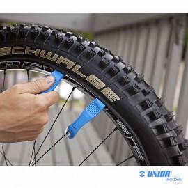 Paire démontes pneu UNIOR 1657 couleur