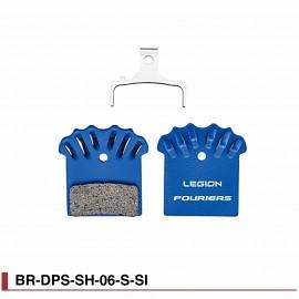 Plaquettes de freins VTT pour freins Shimano® Fouriers BR-DPS-SH-06-S-SI