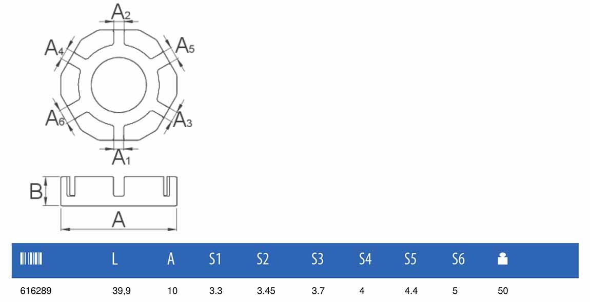taille clé à rayon universelle Unior 1631/2