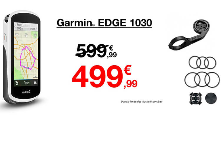Destockage Garmin Edge 1030