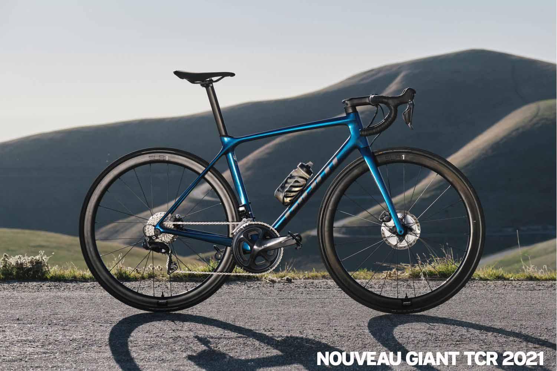 Nouveau vélo GIANT TCR 2021