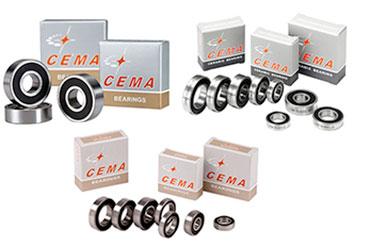 Roulements de roue velo Cema