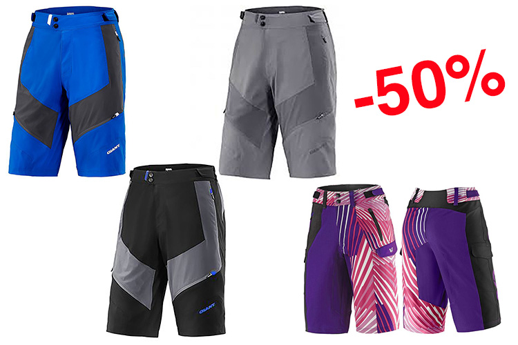 destockage short vtt giant et short vtt liv